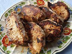 Living the Gourmet: Marinated Boneless Pork Chops