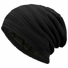 b55cc1b169e2 Fantastic Zone Winter Beanie Hat for Men and Women Warm Knit Hats Slouchy  Thick #FantasticZone