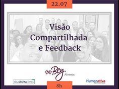 Eventos Corporativos - Visão Compartilhada e Feedback