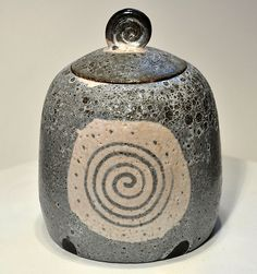 Lidded jar | Flickr - Photo Sharing!