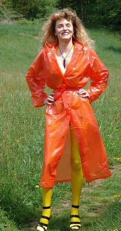 Pvc Raincoat, Rain, Plastic Art