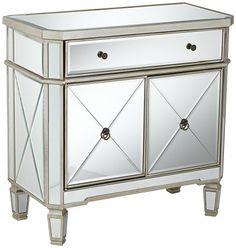 Powell Mirrored 1-Drawer, 2-Door Console Powell,http://www.amazon.com/dp/B0051YHGRK/ref=cm_sw_r_pi_dp_4TtFsb1X8WMZ3KRW
