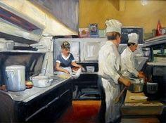 Sally Storch comes from an artistic family with roots in the Paris school of the early Twentieth Century. Her great aunt Bertha Rihani li