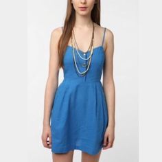 Urban Outfitters Linen Summer Dress