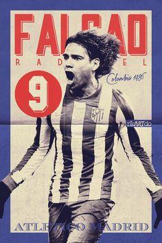 Idolo. Love Atletico Madrid. Falcao The Best