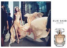 Anja Rubik for Elie Saab Le Parfum. Fall 2011.
