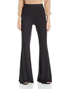 Rachel Pally Women's Sweater Rib Karson Pant, Charcoal, X-Small
