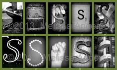 S in the green frame