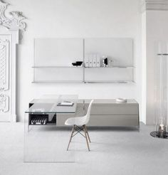 Charmant ComfyDwelling.com » Blog Archive » 47 Adorable Minimalist Home Offices