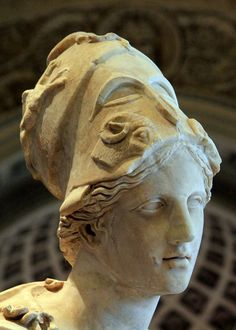 Mattei Athena in the Louvre