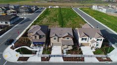 Orchard by Sig Homes at Emerson Ranch in Oakley. Sample of still images taken as part of Drone Project for Sig Homes.