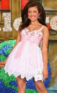 National Glitz Pageant Dress 12 14 Junior 00 | eBay