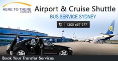 Here To There is famous for the best airport transfer shuttle Western Sydney and furthermore has broadened its services all through Sydney city. Providing Cruise transfers, also service available for corporate services.