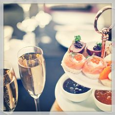 How about champagne for two during Hotel Diplomat's Afternoon Tea Package in Stockholm? Looks scrumptious! #justbook