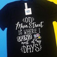 f8d9371051 Disney shirt - Main Street Disney Shirt - Disney Shirt for women - Disney  tshirt - disneyland shirt