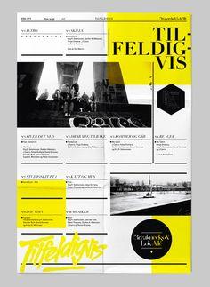 Designer: Bureau Bruneau #editorial #design #print