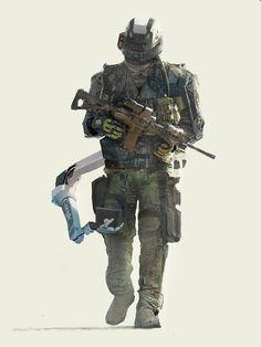 ArtStation - future soldier, Pierre Raveneau