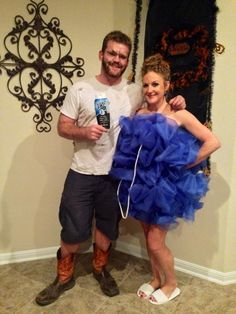 My friends are crafty! {Homemade Halloween costumes for adults