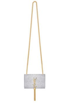 Test your metals with YSL. Yves Saint Laurent signature piece.