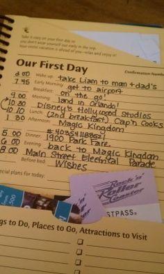 Disney DIY: Using Your Passporter as a Journal & Scrapbook