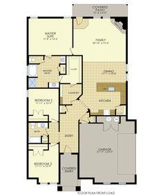 New Floor Plan Martha Square Feet Three Bedrooms Two - Mitchell homes floor plans