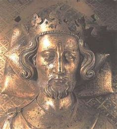 Henry III of England's tomb effigy in Westminster Abbey.