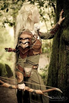 Mirkwood Elf Armor Vest by ElficWearShop on Etsy