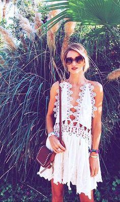 #summer #fashion / Chloe summer dress