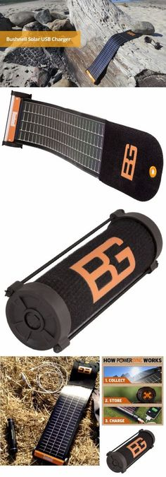 Bushnell Bear Grylls SolarWrap Mini USB Charger - Ultimate Survival EDC Gear