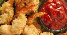 Crevettes frites à la noix de coco - Recettes - Ma Fourchette