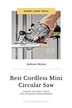 Circular saw is a very handy tool. But these handy tools can bring obstacle in your professional work just being heavy!  Yes, a full-sized circular saw can cause strain on your arms at the time of using. And of course, you can avoid this problem using a mini circular saw.  #BestCordlessMiniCircularSaw # CordlessMiniCircularSaw #CircularSaw #oscillatingtool Mini Circular Saw, Circular Saw Reviews, Handy Tools, Oscillating Tool, Home Tools, Arms, Arm, Weapons