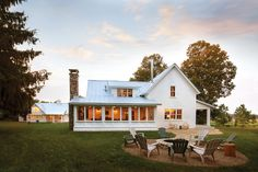 farm house with porch house plans - Google Search