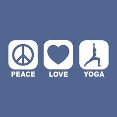PEACE+LOVE+YOGA+t+shirt+recycle+meditation+yoga+by+foultshirts,+$14.00