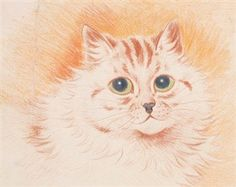 In the pink By Louis Wain