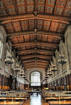 University of Michigan (Old) Law Library - Ann Arbor, Michigan