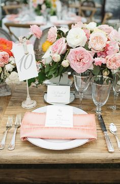 20 Swoon Worthy Tablescapes for A Spring Wedding
