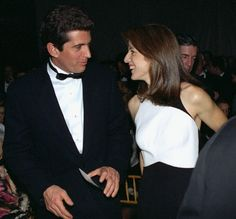 John Kennedy Jr. and Caroline Kennedy