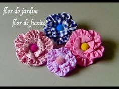 Wonderful Choose the Right Fabric for Your Sewing Project Ideas. Amazing Choose the Right Fabric for Your Sewing Project Ideas. Tissue Flowers, Felt Flowers, Diy Flowers, Fabric Flowers, Hand Embroidery Designs, Ribbon Embroidery, Handmade Flowers, Handmade Crafts, Chicken Scratch Embroidery