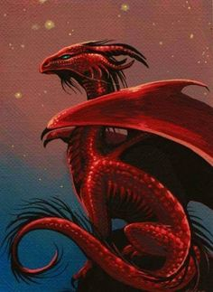 this dragon has something about it I cant explain! Its a feeling: a great Red Dragon image, wow. Cool Dragons, Beautiful Dragon, Dragon's Lair, Dragon Artwork, Red Dragon Painting, Dragon Pictures, Fire Dragon, Water Dragon, Dragon Head
