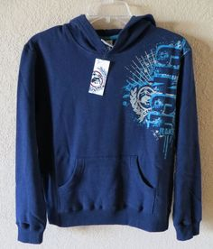 CINCH Jeans Boys HOODIE Sweatshirt Pullover Western Rodeo Cowboy NWT Large 12 LOTS MORE CINCH ON SALE NOW! BAHA RANCH WESTERN WEAR EBAY SELLER ID SOLOEDITION