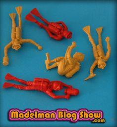 MADELMAN BLOG SHOW: Buceadores de combate | Marx Toys