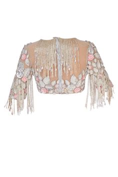 Buy Baby pink sari with blouse by Manish Malhotra at Aza Fashions Call/ WhatsApp for Purchase inqury : Saree Jacket Designs, Cotton Saree Blouse Designs, Fancy Blouse Designs, Bridal Blouse Designs, Neckline Designs, Indian Bridal Outfits, Indian Designer Outfits, Designer Dresses, Manish Malhotra Bridal