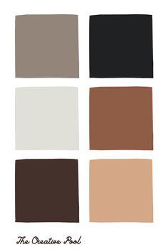 Feeds Instagram, Chocolate Color, Paint Colors For Home, Web Design, Neutral Colour Palette, Color Stories, Color Swatches, Color Theory, Colour Schemes