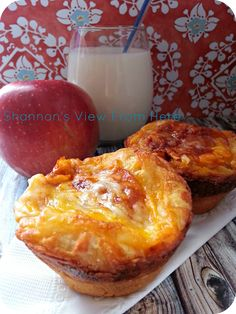 Shannons View from Here: Freezable Kid Friendly Pizza Muffins