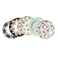Royal Albert 100 Years Teaware 5 Plates Set(00-40\u0027S)  sc 1 st  Pinterest & Royal Albert 100 Years Teaware 10 Piece Set Cup \u0026 Saucer 1900-1940 ...