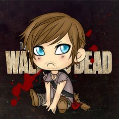 .: Daryl Dixon :. by *ZombiMandi on deviantART