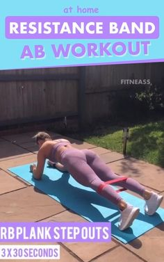 At Home Resistance Band Ab Workout