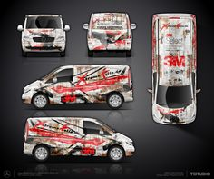 The approved Vito Xtremefolie full wrap design project