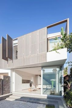 Benn + Penna's Balmain Pair didn't win a NSW Residential Architecture Award just because they're beautiful buildings. Responding to the needs of their own modern, inter-generational family, architect Andrew Benn and his interior designer wife Alice Penna conceived this striking alteration of two connecting cottages, a design that implicitly explores the possible future of high-density living.