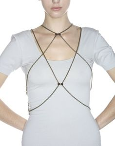So many body chain jewelry inspiring ideas! Some of them are very easy to make :)
